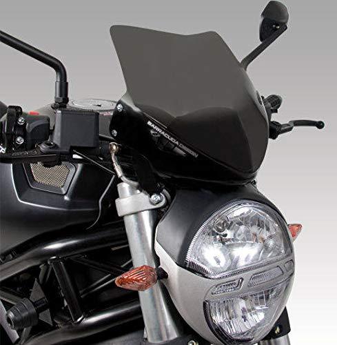 Barracuda Windschild Plexiglas für Ducati Monster 696 796