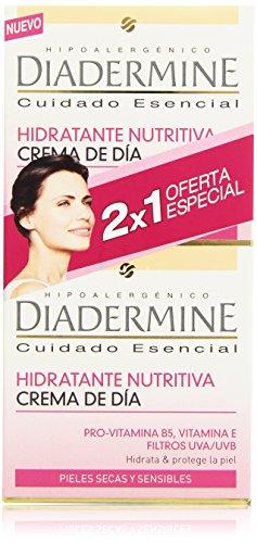 Diadermine - Hidratante Nutritiva - Crema de día - 2 x 50 ml
