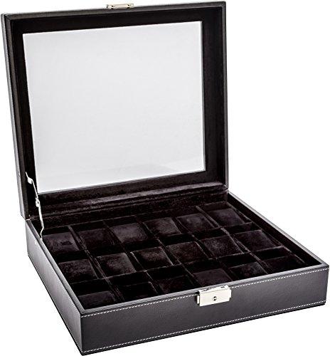 LA ROYALE CLASSICO 18 BB Uhrenbox Aufbewahrungsbox für 18 Uhren