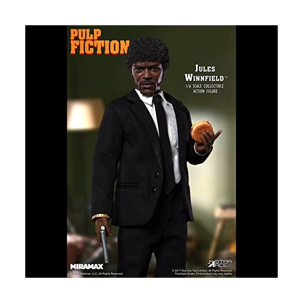 Star Pulp Fiction My Favourite Movie Action Figure 1/6 Jules Winnfield 30 cm 3
