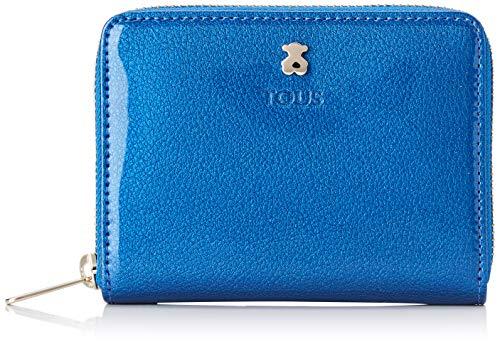 Tous Dorp - Monedero para Mujer, Azul, 13 x 11 x 2 cm
