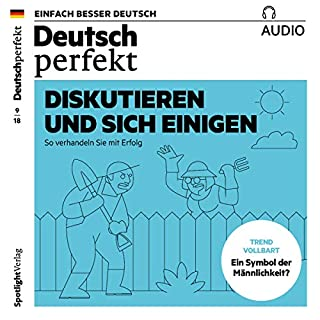 Deutsch perfekt Audio. 9/2018 Titelbild