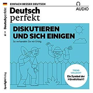 Deutsch perfekt Audio. 9/2018 audiobook cover art