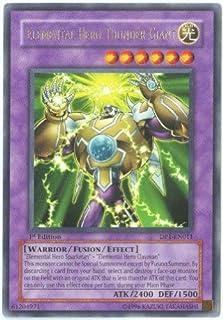 Yu-Gi-Oh! - Elemental Hero Thunder Giant (DP1-EN011) - Duelist Pack 1 Jaden Yuki - Unlimited Edition - Rare