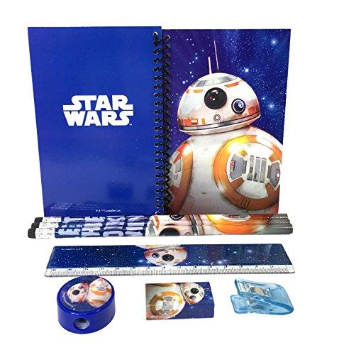 Disney Star Wars 'The Force Awaken' Bb-8 Robot Stationary Kit - Blue