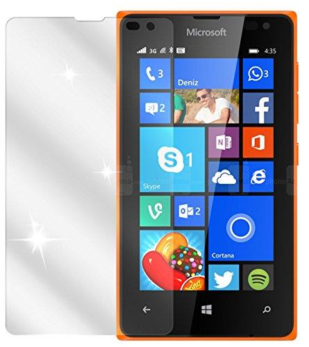 dipos I 6X Schutzfolie klar kompatibel mit Microsoft Lumia 532 Folie Bildschirmschutzfolie