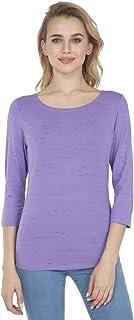 Jockey Women's Striped Regular fit T-Shirt