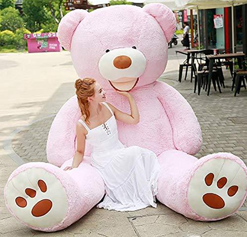 bananair Bären GEANT XXL, Teddy Bear Immense, für Geburtstage, Weihnachten, Kinder, Feiertage (rosa, 340cm)