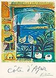 Picasso Vintage-Reiseposter, Frankreich für Cote d'Azur