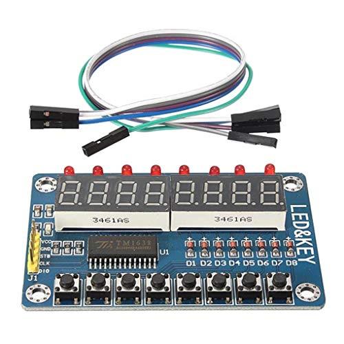 TM1638 Chip Key Anzeigemodul 8 Bit Digital- LED Tube Für Arduino AVR