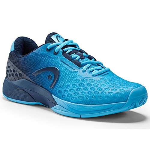 Head Revolt PRO 3.0 Men, Scarpa da Tennis Ragazzo, Aqua/Dark Blue, 105
