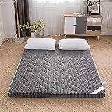 SHIN Zusammenklappbar Futon Matratze Japanisches Faltende Tatami Matratze Folding Boden