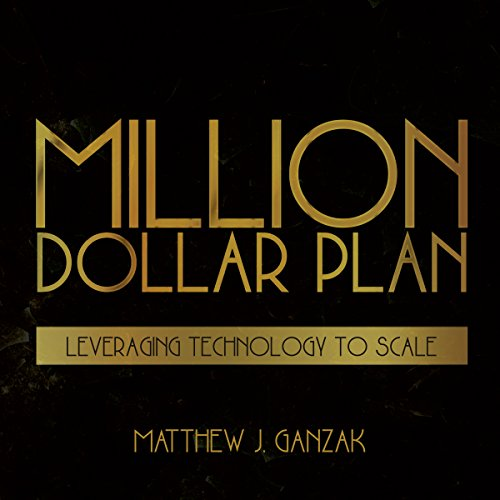 Million Dollar Plan audiobook cover art
