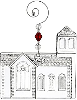 Waterford Dimensional Church Ornament