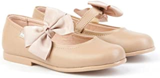 416c9a48 AngelitoS Merceditas combinadas de charol Color Camel para Niña. Marca  Modelo 1508. Calzado infantil