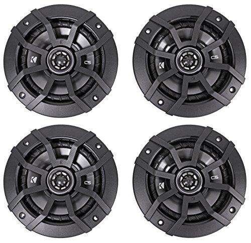 KICKER CSC5 5.25' 900W 2 Way 4 Ohm Coaxial Car Audio Speakers (2 Pair)   43CSC54