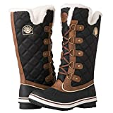 Best Womens Snow Boots - GLOBALWIN Women's 1901 Brown Fashion Boots 8M Review