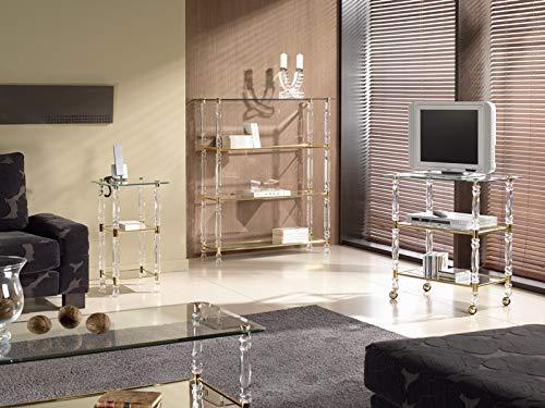 Zadise mi mueble online Mesa T.V. plexi clásica 301 70 x 45 x 75 cm