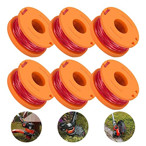 Learn More About N/X Replacement Trimmer Spool Line for Worx,6 Pack (6 Pack Grass Trimmer Line)