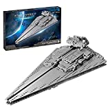 Technic Maqueta de Destructor Estelar, Star 891 Bloques de terminales Star Wars Imperial Star Destroyer compatible con Lego Static