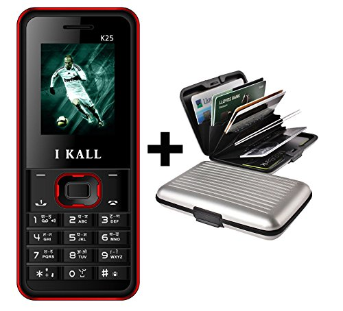 I Kall K25 Multimedia Mobile with Wireless FM Feature and A