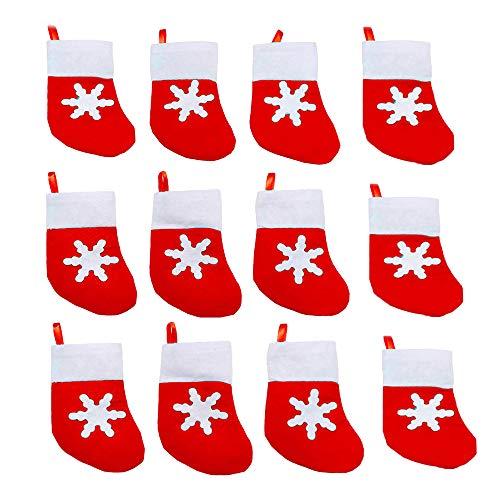 Kungfu Mall - Juego de 12 piezas de cubiertos de Navidad para decoración de vajilla, cubiertos y tenedores de bolsillo, para Navidad, cena, mesa, decoración de cocina