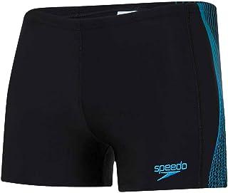 Speedo Men's Tech Panel Aquashort Swim Briefs