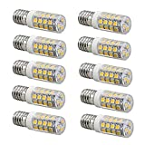 YEZIB Bombilla LED Reemplazo de los bulbos del LED G9 / E14 3W for la lámpara halógena 30W 3000K / 6000K 260LM Paquete de 10 para la Calle, Garaje, iluminación de almacenes □
