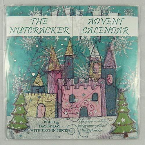 Zwitserse Kus De Notenkraker Slot-In Herbruikbare Advents Kerstmis Advent Kalender 290 x 290 mm 24 sleuf in stukken