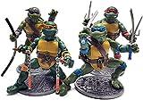 Figuarts Teenage Mutant Ninja Turtles - TMNT Action Figures 1988 Nostalgic Classic Model – Set of 4 Ninja Turtles Retro Action Figures (6.5 Inches)
