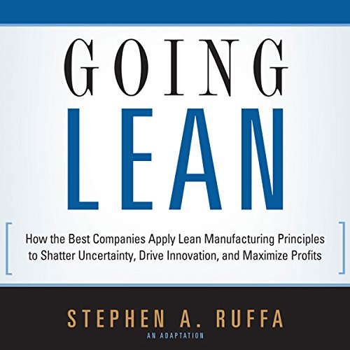 Going Lean audiobook cover art