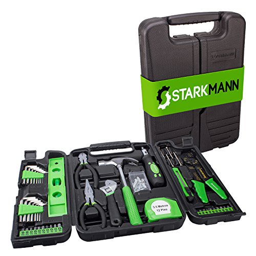 STARKMANN 99 tlg. Werkzeug Set Werkzeugkkoffer Werkzeug-Box Hammer Schraubendreher Zangen Sechskantschlüssel