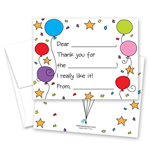 Best fill in the blank thank you notes for kids sports for 2021
