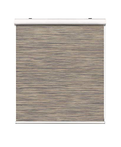 Springblinds 100% Blackout Roller Shades Cassette Valance Continous Loop Custom Shades UV Protection Decorative Fabric Perfect for Bedroom Living Window Treatment