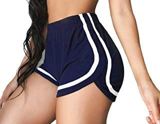 Women's Active Shorts Fitness Yoga Shorts Running Gym Workout Shorts