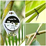 YDSL 328ft (100m) Twist Ties, Plant Ties for Vines Garden Wire with Cutter for Gardening Home Office, Multi-Function… 14 GREAT LENGTH & SUPERIOR MATERIAL】This garden wire is made from super quality green plastic - coating iron, which measures 328ft (100m) per reel, durable and enough to be used for long time. 【PROTECT PLANTS】 Our plastic coated wires with great length(328ft) are perfect for garden twist tie, and other plants to trellis, stakes, or any other supports. 【BEST ASSISTANT FOR YOUR HOME & OFFICE】 The plant ties function, our tie twist can be your great companion at home or the office, help you organize well the headphones lines, computer lines , mobile phone cables and others.