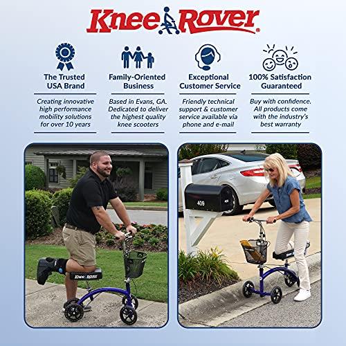 KneeRover Deluxe Steerable Knee Walker