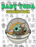 Baby Yoda Coloring Book: +50 One Sided Coloring Pages for Ki