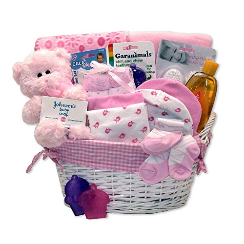 Simply Baby Girl Necessities Basket -...