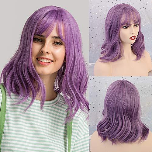 comprar pelucas mujer morado online