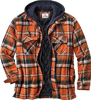 Legendary Whitetails Men s Standard Maplewood Hooded Shirt Jacket Tomahawk Plaid X-Large