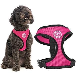 GOOBY Weiches Hundegeschirr aus Netzstoff mit atmungsaktivem Netzstoff 7