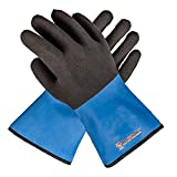 Grill Armor Extreme Heat Resistant Waterproof Oven Gloves - EN407 Certified 932F with Hot Liquid Protection - Cooking Gloves for BBQ, Grilling, Baking