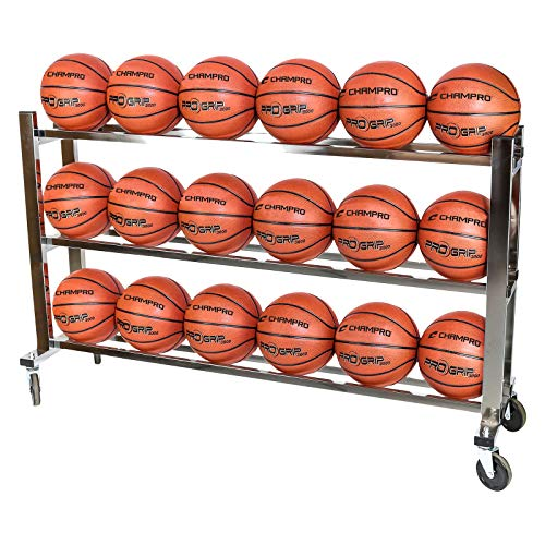 CHAMPRO Monster Steel Ball Cart SILVER, 41' x 17' x 41'