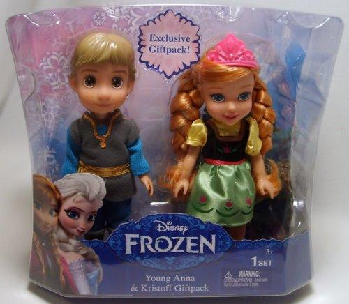 Disney Frozen -Coffret poupées Anna et Kristoff