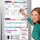 STYLIO Dry Erase Calendar Whiteb...