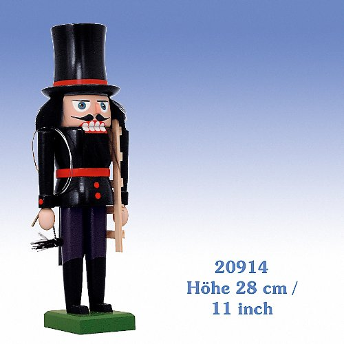 KWO German Christmas Nutcracker Chimney Sweep Decoration Handcrafted in Germany