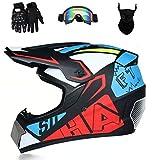 Senhill Motocross Helmet Offroad...