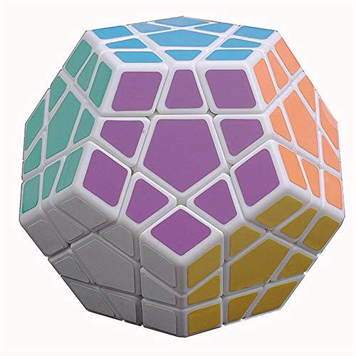 Speed Cube 3rd Order 5 Magic 12 Face Magic Puzzle Smooth Toy Easy Fun Descompresión Smooth Toy,B