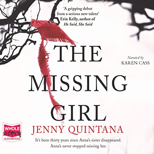 The Missing Girl audiobook cover art